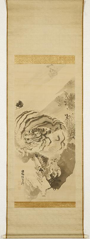 Tiger under a Pine Tree