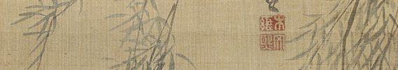 柳桜黄鳥図