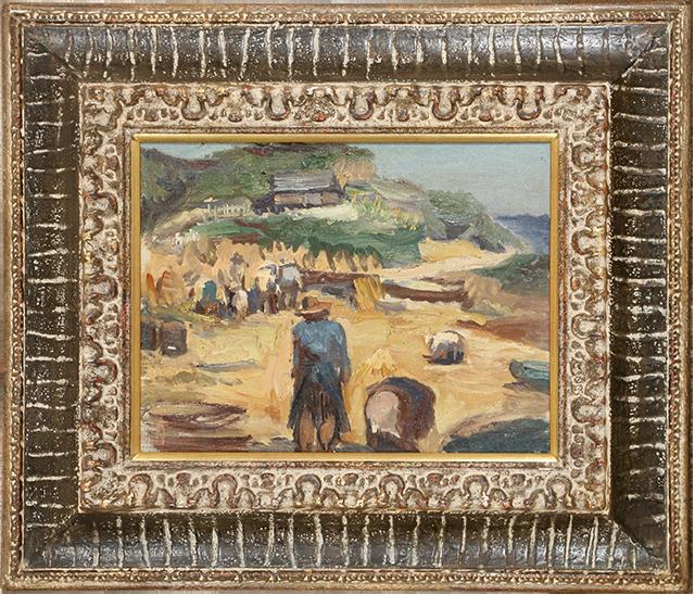 麦の収穫(昭和8年)