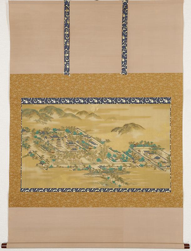 法隆寺全景図