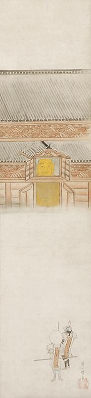 方広寺大仏殿図