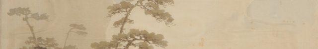 桜花谿流之図 丹楓野色之図