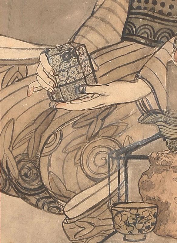 骨董屋の婦人