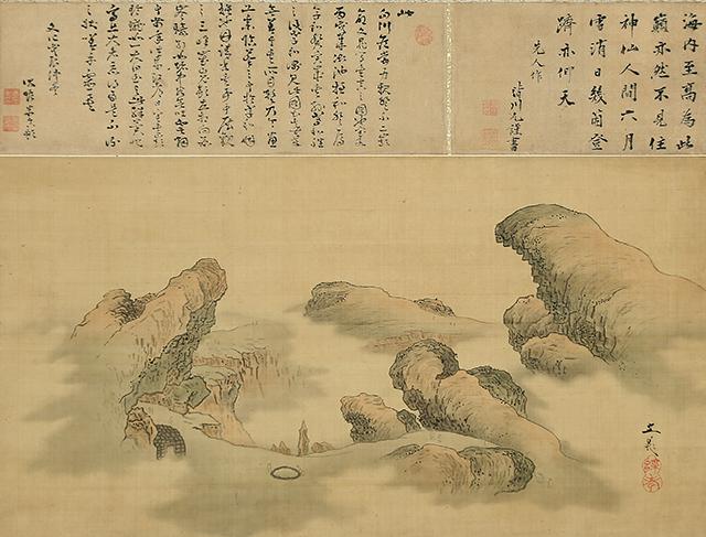 富士山頂図