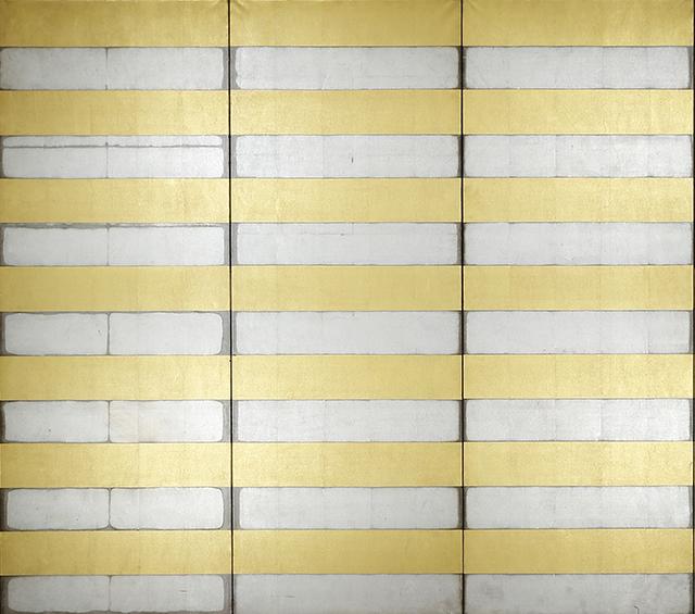 金銀縞屏風