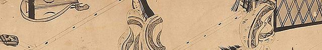 白描源氏物語(琵琶・琴)