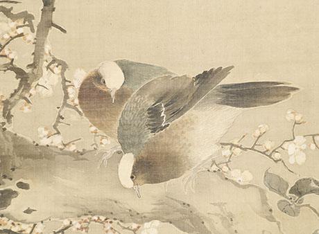 春光華鳥図