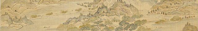 青緑西湖図